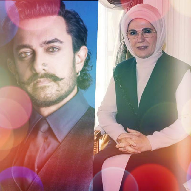 Bollywood news in Hindi, Aamir Khan meets First Lady of Turkey