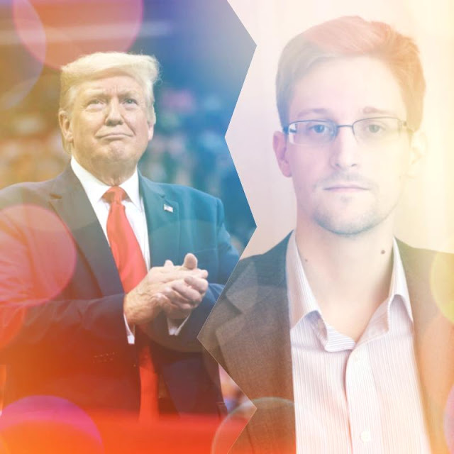 BBC Hindi - Donald Trump may waive Edward Snowden's sentence