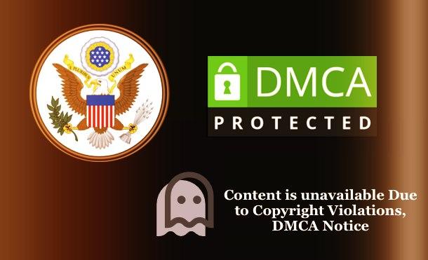 Copyright Infringement - DMCA Notice