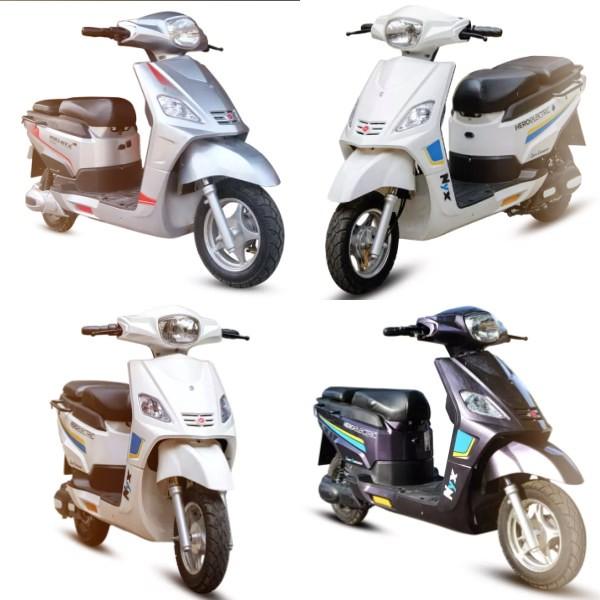 Hero Electric Nyx-HX Scooter Range 210 km