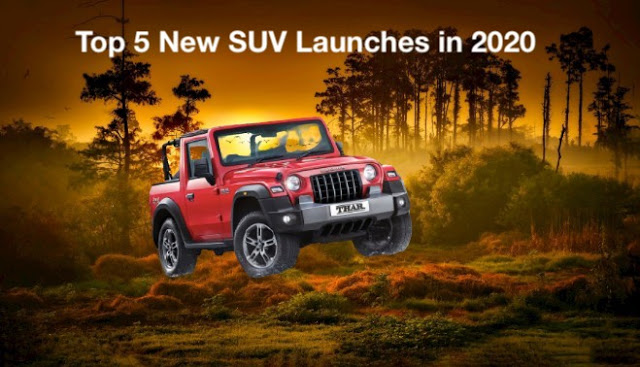 Top 5 New SUV Launches in 2020