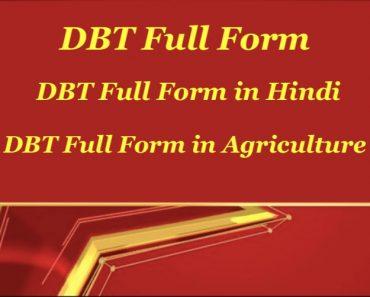 DBT Full Form