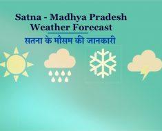 Satna Weather - Heat wreaks havoc