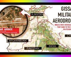 Gissar Military Aerodrome - Secret Indian Military Base