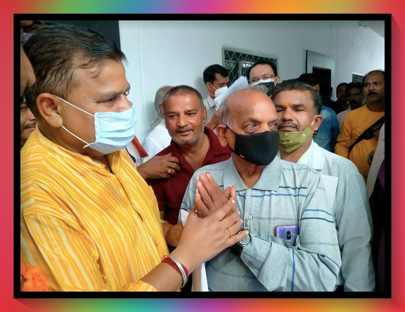 Satna News - Energy Minister Praddumn Singh met Electricity Employees Federation in Satna